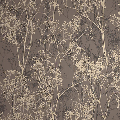 Image for Rasch Deco Chic Wallpaper - Chocolate from StoreName