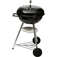 Weber Compact 47cm Kettle Charcoal BBQ - Black