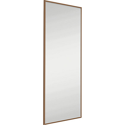 Image for Classic Wood Windsor Oak Frame Mirror Sliding Door - 610mm from StoreName