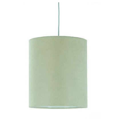 Image for Faux Suede Shade - Cream - 19cm from StoreName