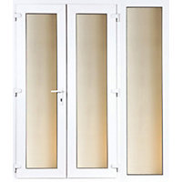 Model 4 French Door set and 1 Wide Sidelite - 1790mm Wide 2090mm High