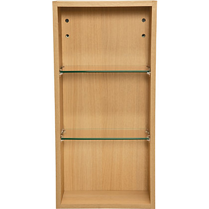 Image for Schreiber Fitted Single Wall Unit - Oak Effect from StoreName