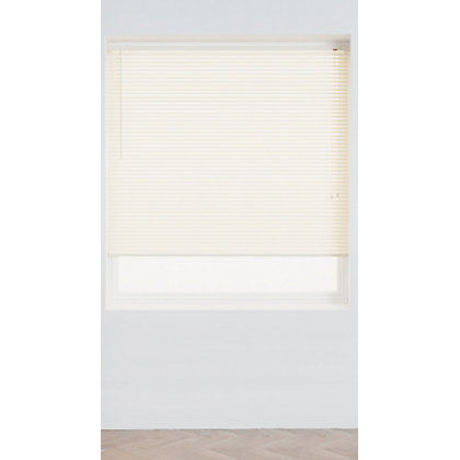 Image for Homebase Cream PVC 25mm Venetian Blind - 90cm from StoreName