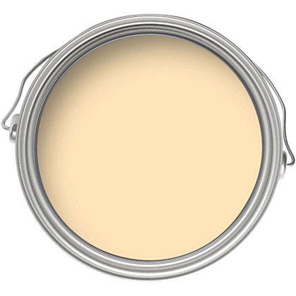 Image for Crown Breatheasy Gentle Yellow - Silk Emulsion Paint - 2.5L from StoreName