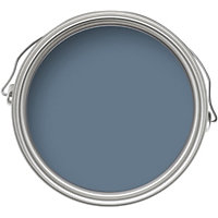 Home of Colour Feature Wall Blue Slate - Matt Emulsion Paint - 1L