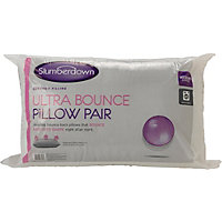 Slumberdown Ultrabounce Pair of Pillows.