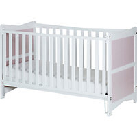 Saplings Kitty Cot Bed - Pink & White.