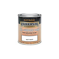 Rust-Oleum White - Matt Paint - 250ml