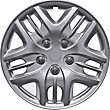 Streetwize Set of 4 Phantom Car Wheel Trims - 13 Inch.