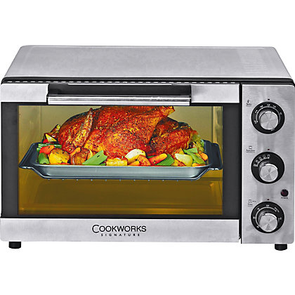Image for Cookworks KWS1525R-F2U Mini Oven - Stainless Steel. from StoreName