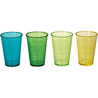Ridged Tumblers  - Pack of 4