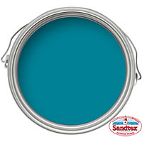 Sandtex Gloss Paint - Teal -750ml