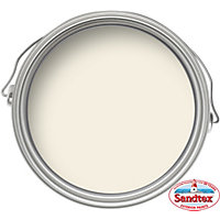 Sandtex Satin Paint - Soft Cream - 750ml