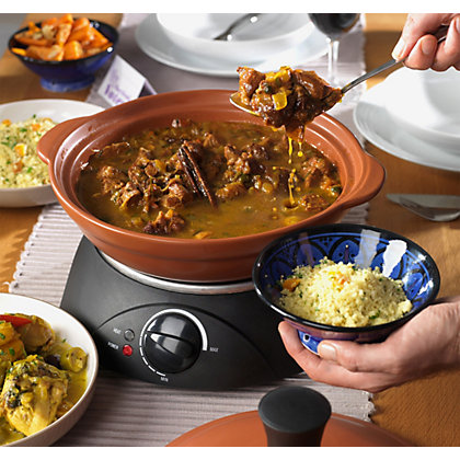 Image for Swan SF19010CDWM Come Dine with Me Ceramic Tagine. from StoreName
