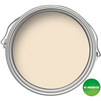 Homebase Value Magnolia - Matt Emulsion Paint - 5L