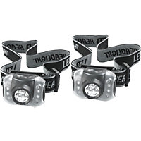 Rolson 2 Piece 7 LED Head Lamp