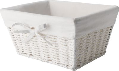 bathroom storage baskets white white storage basket homebase co uk 16674