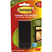 command strips heavy mirror heavy duty picture hanging kit 1 pack 5596