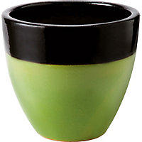 Messina Green Garden Planter - 28cm