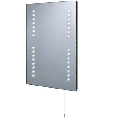 illuminated bathroom mirror homebase co uk 13151