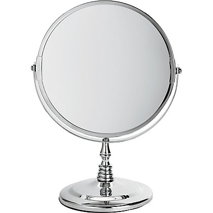 stand mirror chrome 13151