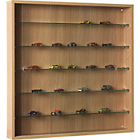 Collectors Cabinet with Glass Shelves -