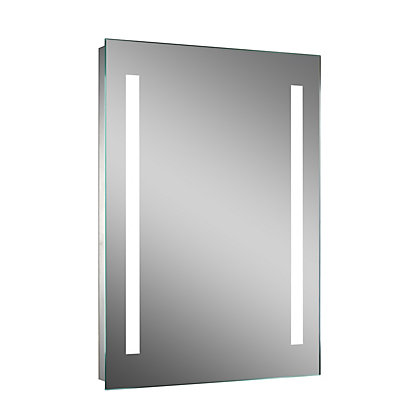 bathroom mirrors illuminated led amp homebase 13151