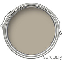 Sanctuary Eggshell Paint - Pebble Grey - 750ml