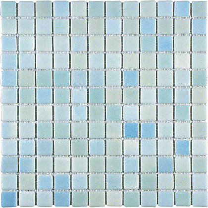 Image for Fusions Mosaic Wall Tile - Aqua - 316 x 316mm - 4 Pack from StoreName