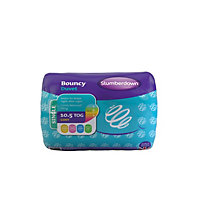 Slumberdown Bouncy 10.5 Tog Duvet - Single.