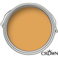 Crown Period Colours Gold Leaf - Flat Matt Emulsion Paint - 2.5L