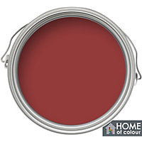 Home of Colour Classic Red - Quick Drying Gloss Paint - 750ml