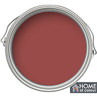 Home of Colour Moroccan Red - Quick Drying Satin Paint - 750ml
