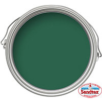 Sandtex Park Bench Green - High Performance Gloss Paint - 750ml