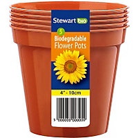 Flower Pots (Pack of 5) - 10cm