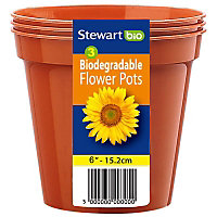 Flower Pots (Pack of 3) - 15cm