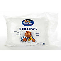 Silentnight Essentials Hollowfibre Pillow - Pair