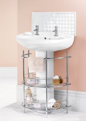 home base bathroom cabinets homebase the sink 2 tier bathroom storage unit 16365